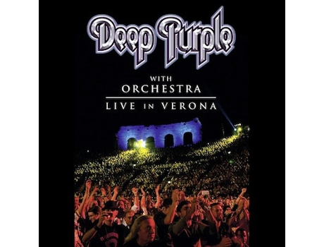 DVD Deep Purple - With Orchestra - Live In Verona
