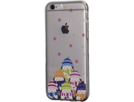 Capa KUNFT Pinguins iPhone 6, 6s — Compatibilidade: iPhone 6, 6s