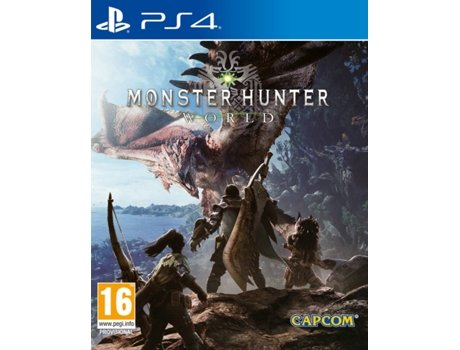 Jogo PS4 Monster Hunter World — RPG | Idade mínima recomendada: 16