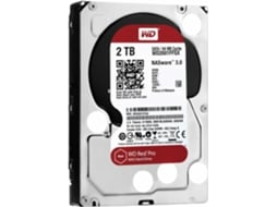 Disco Interno 3.5'' WESTERN DIGITAL 2TB Red Pro WD2001FFSX — 3.5'' / 2 TB / SATA3 6 Gb/s
