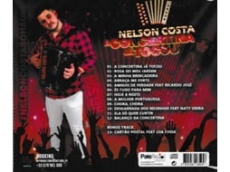 CD Nelson Costa - A Concertina Já Tocou — Popular