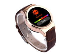 Smartwatch NO.1 S3 Dourado — Android / 350 mAH