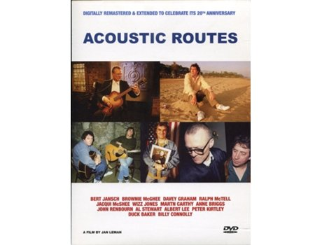 DVD Acoustic Routes