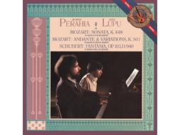 CD Perahia,Murray - Mozart: Sonata In D Major For Two Pianos — Clássica