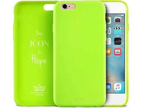 Capa PURO ICON iPhone 6/6S Verde Claro — Capa / iPhone 6/6S