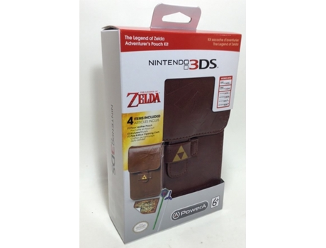 Bolsa Legend Of Zelda Starter Kit 3DS/DS — Nintendo 3DS XL/3DS/DSi XL/DSi