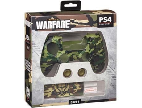 Kit Silicone INDECA PS4 Warfare