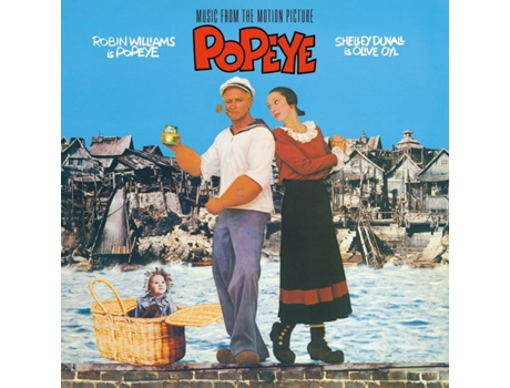 Vinil Music From The Motion Picture Popeye