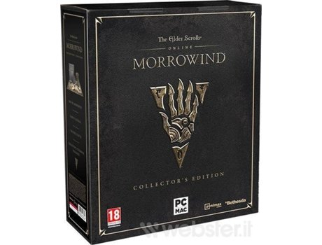 Jogo PC The Elder Scrolls Online: Morrowind (Collector's Edition) — RPG | Idade mínima recomendada: 18