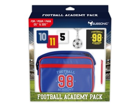 Pack Football Academy SUBSONIC Nintendo — Compatibilidade: Nintendo 3DS/ 3DS XL