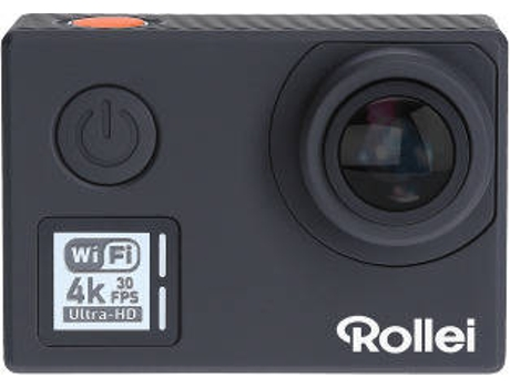 Action Cam ROLLEI 630 4K Preto — 4K / Wi-Fi /  Bluetooth / 0.66H