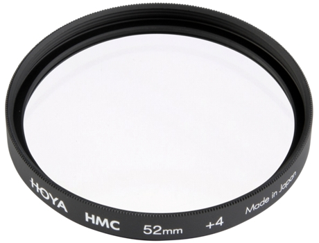 Filtro Close-up HOYA HMC +4 52mm — 55 mm