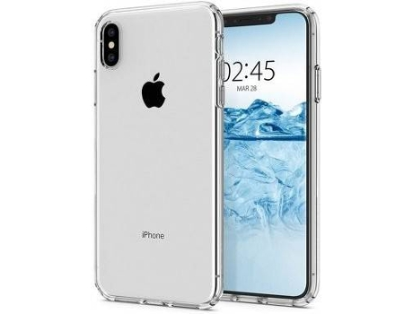 Capa iPhone XS Max SPIGEN Liquid Crystal Transparente