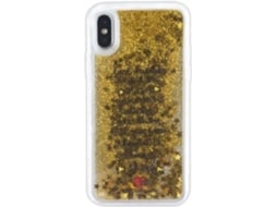 Capa iPhone X, XS SILVIA TOSI Liquid Stars Multicor — Compatibilidade: iPhone X, XS