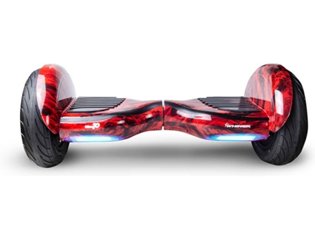 WHINCK - Hoverboard WHINCK 10 Fogo (Autonomia: 15 km  Velocidade Máx: 12 km/h)