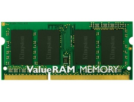 Memória RAM DDR3 KINGSTON 2 GB (1600 MHz - CL 11 - Verde) — 2 GB | 1600 MHz | DDR3