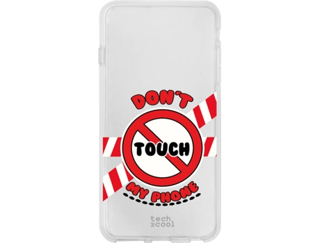 Capa ZTE Blade A5 2019 TECHCOOL Don´t touch my phone Transparente