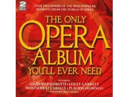 CD The Only Opera Album You'll Ever Need