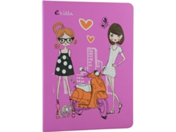 Capa iPad 9,7'' EVITTA Air 2 Fashion Girl — 9.7''