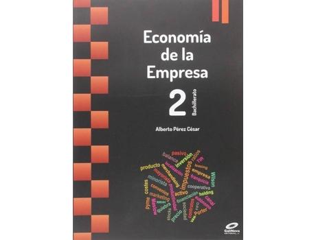 Livro Economía En Empresa 2º Bachillerato 2015 de Varios Autores