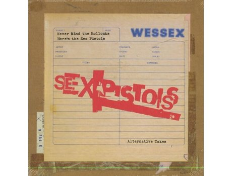 Vinil Sex Pistols: Never Mind The Bollocks 7' B — Pop-Rock