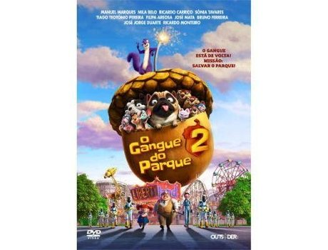 DVD O Gangue do Parque 2 — De: Cal Brunker | Com: Will Arnett, Katherine Heigl, Maya Rudolph