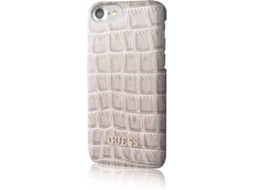 Capa GUESS Case iPhone 6, 6s, 7, 8 Castanho — Compatibilidade: iPhone 6, 6s, 7, 8