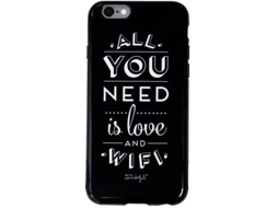 Capa MR. WONDERFUL WIFI iPhone 6 Plus, 6s Plus Preto — Compatibilidade: iPhone 6 Plus, 6s Plus