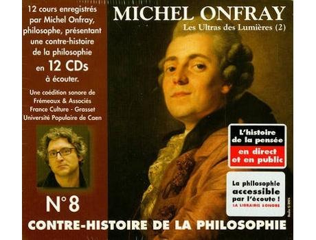 Livro Contre-Histoire De La Philosophie T.8; Les Ultras Des Lumieres T.2; De Helvetius A Sade