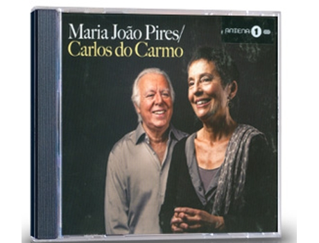 CD+DVD Maria João Pires / Carlos do Carmo — Fado