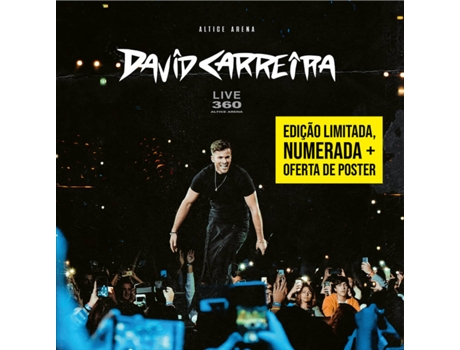 DVD David Carreira - 360 Altice Arena