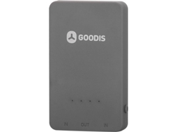 Powerbank GOODIS 2000 mAh Polymer Gray — 2000 mAh