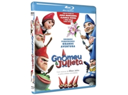 Blu-Ray Gnomeu e Julieta — De: Kelly Asbury | Com: James McAvoy,Emily Blunt,Michael Caine,Maggie Smith,Matt Lucas