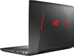 Portátil Gaming ASUS Gl702Zc-R7Dx5Pb1 (17.3'' - AMD R7-1700 - 16 GB RAM - 1 TB HDD + 256 GB SSD - AMD RX580) — AMD Ryzen 7 1700 | 16GB | 1TB HDD + 256GB SSD | AMD RX580 4GB
