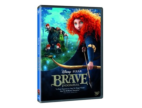 DVD Brave Indomável — Do realizador Mark Andrews