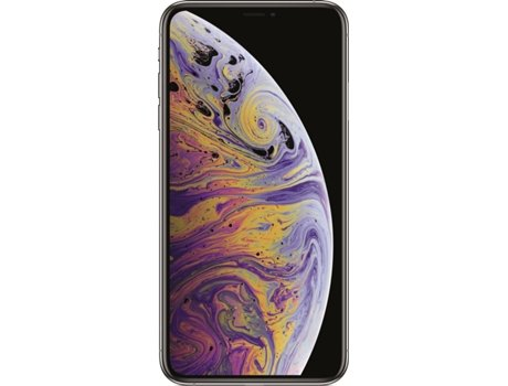 iPhone XS Max APPLE (6.5'' - 4 GB - 256 GB - Prateado) — 4 GB RAM | Single SIM | 2 Câmaras traseiras