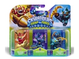 Figura Skylanders Swap Force - Triple Pack 3 — Coleção: Skylanders Swap Force