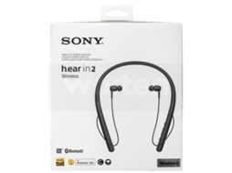Auriculares Bluetooth SONY WIH700B (In Ear - Noise Canceling - Preto) — In Ear | Noise Cancelling