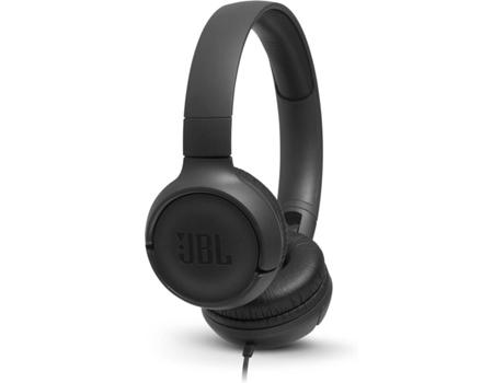 Auscultadores Com fio JBL Tune 500 (On Ear - Microfone - Preto) | [6768997 ]