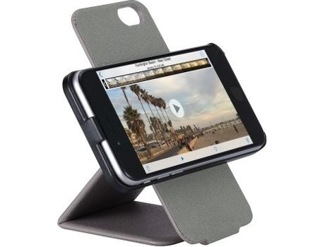 Capa JUST MOBILE Spincase iPhone 6/6S Grey — Capa / iPhone 6/6S