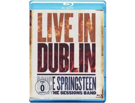 Blu-Ray Bruce Springsteen - Liive in Dublin — Rock