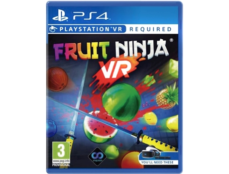 Jogo PS4/PS VR Fruit Ninja: VR  Edition