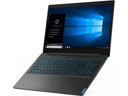 Portátil Gaming LENOVO IdeaPad L340-15IRH - 81LK00F7PG (15.6'', Intel Core i7-9750H, RAM: 8 GB, 256 GB SSD, NVIDIA GeForce GTX 1050) — Windows 10 Home | Full HD