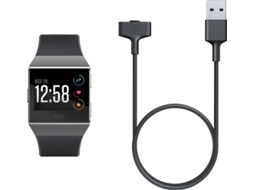 Cabo USB FITBIT Ionic Preto — Para FITBIT Ionic