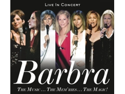 CD Barbra Streisand - Barbra: The Music...The Mem'ries...The Magic! — Pop-Rock