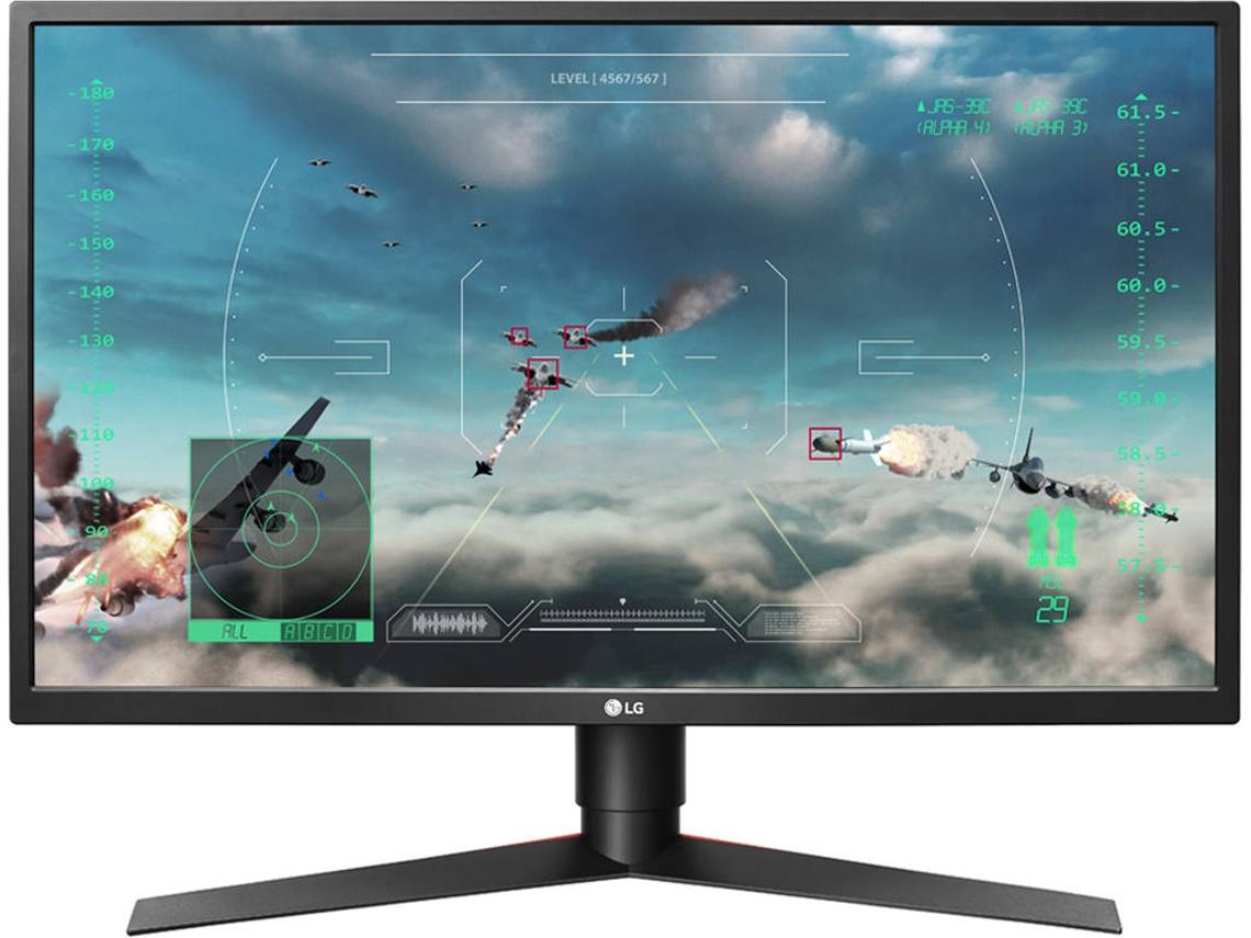 Monitor Gaming LG 27GK750F-B (27'' - 2 ms - 240 Hz)