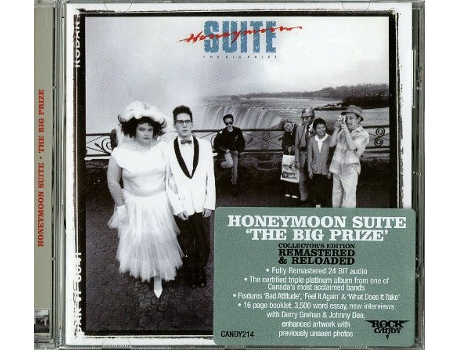 CD Honeymoon Suite - The Big Prize