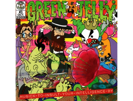 CD Green Jellÿ - Musick To Insult Your Intelligence By