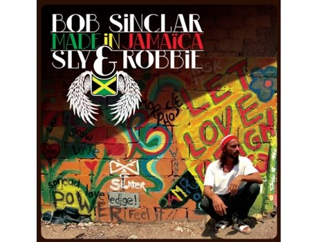 CD Bob Sinclar Vs Sly & Robbie-Made In Jamaica — House / Electrónica