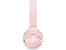 Auscultadores Bluetooth JBL TUNE600NC (On Ear - Microfone - Noise Canceling - Rosa) — On Ear | Microfone | Noise Cancelling | Atende chamadas